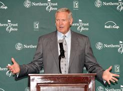 Jerry West is combining his business savvy with endless energy to ignite attention for the Northern Trust Open as the tournament's executive director.