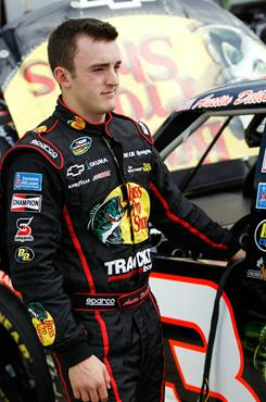 Austin Dillon won the pole for Friday's Camping World Truck Series race .