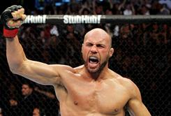UFC star Randy Couture was a three-time wrestling All-American at Oklahoma State.