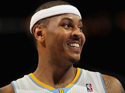 Carmelo Anthony is headed to his preferred destination, New York City, to play at Madison Square Garden.