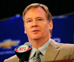 Commissioner Roger Goodell is on the minds of a fans group that very concerned about the NFL's labor issues.