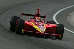 Robby Gordon, shown here qualifying for the 2004 Indianapolis 500, was the last driver to race the Indy 500 and NASCAR's Coca-Cola 600 on the same day.