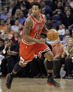 James Johnson has played in 78 games over two seasons, averaging 3.8 points and 1.9 rebounds for the Bulls.