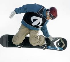 "Norwegian snowboarder Terje Haakonsen has signed ""The Snowboarding 180 Olympic Charter."""