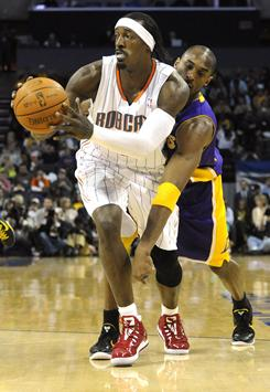 Gerald Wallace, the last original member of the Bobcats and the franchise's only All-Star, averaged 15.6 points and 8.2 rebounds for Charlotte this season.