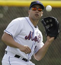 Mets' Carlos Beltran has been slow to recover from knee surgery.