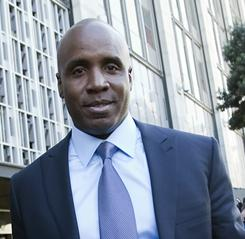 Former Giants slugger Barry Bonds renewed his not guilty plea Tuesday at a U.S. courthouse in San Francisco. He's charged with four counts of making false statements and one count of obstruction of justice.