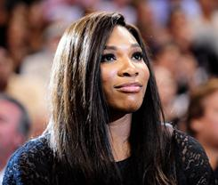 Serena Williams, who hasn't played since winning Wimbledon last year, reportedly was hospitalized Monday for a pulmonary embolism.