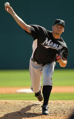 Josh Johnson headlines a Marlins rotation hoping to contend with the Phillies for tops in the NL East this season.