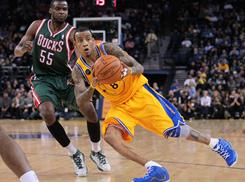 Monta Ellis hasn't always been easy to coach, but he's matured and emerged as a leader with the Warriors in his sixth season.