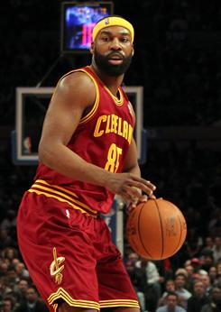 Baron Davis had 18 points, including a clutch three-pointer late in the fourth, in his Cavaliers debut.