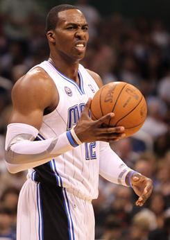 Orlando center Dwight Howard (12) will serve a one-game suspension for picking up his 16th technical foul on Friday night.