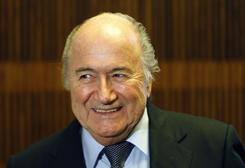 """If it works definitely, the board will say yes to the technology. And if the board says yes, then there is a no problem,"" FIFA President Sepp Blatter said Saturday."