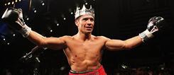 Sergio Martinez celebrated like a king following his six-minute knockout of Paul Williams back in November 2010 in Atlantic City. Martinez fights unbeaten Ukrainian Sergiy Dzinziruk on Saturday.