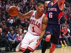 Derrick Rose had 34 points, including 18 in the third quarter, to help the Bulls to their 12th win in the last 14 games.