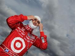 Dario Franchitti during Izod IndyCar testing Monday outside Birmingham, Ala.