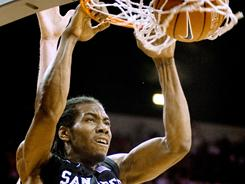 Kawhi Leonard and San Diego State could be a fruitful No. 2 seed.