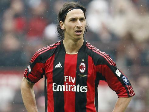 Ibrahimovic Foto Milan ac Milan's Zlatan Ibrahimovic