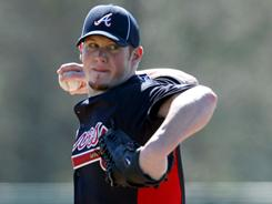 The Braves believe Craig Kimbrel could be their next closer, filling a spot created by Billy Wagner's retirement.