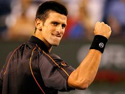 Novak Djokovic of Serbia has followed up his Davis Cup title at the end of 2010 with a strong start to 2011, including the Australian Open title.