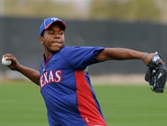 Neftali Feliz pitched four strong innings at a spring training game this week, sparking talk that the Texas Rangers could move him into the starting rotation.