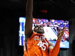 Clemson's Jerai Grant scored a career-high 22 points, including 12 in the first half, to help lead the Tigers to a 70-52 win over the UAB Blazers in the NCAA tournament.
