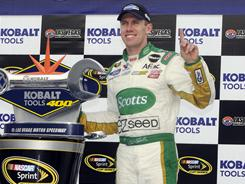 Carl Edwards turned his partnership with Roush Fenway Racing into quite the team this season as Edwards sits only seven points behind co-leaders Tony Stewart and Kurt Busch in the NASCAR Spring Cup standings.