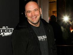 The UFC's Dana White, seen here Feb. 15 in Las Vegas, has clashed with some Strikeforce-affiliated groups.