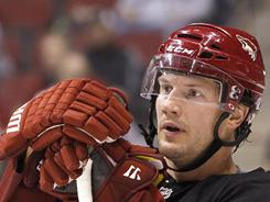 Captain Shane Doan is one of several Coyotes capable of scoring at any moment. Seven players have at least 15 goals for the Coyotes this season.
