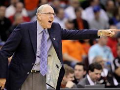 Jim Boeheim and his Syracuse team did not finish their second round victory over Indiana State until 12:41 a.m. Eastern.
