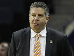 Tennessee head coach Bruce Pearl faces an uncertain future now that his team has been eliminated from the NCAA basketball tournament.