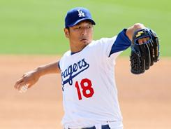Dodgers starting pitcher Hiroki Kuroda, from Osaka, Japan, has pitched in the majors since 2008.