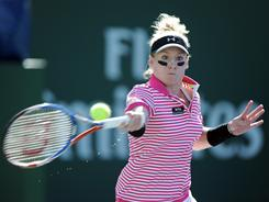 Bethanie Mattek-Sands. shown here March 9 during the BNP Paribas Open in Indian Wells, Calif., is ranked No. 43 in the world and has been a huge asset to the U.S. Fed Cup team.