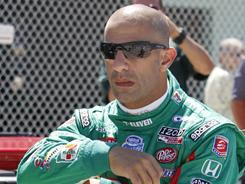 Tony Kanaan, of Brazil, landed an Izod IndyCar ride Monday.