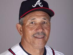 Braves minor league manager Luis Salazar lost his left eye after being hit in the face by Brian McCann's foul liner while standing in the dugout during an exhibition game.