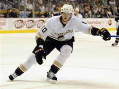 Ducks right wing Corey Perry had one goal in Wednesday's comeback win over the Stars.