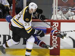 This Zdeno Chara hit against Max Pacioretty on March 8 angered the Canadiens and sparked a police investigation.