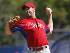Cliff Lee signed a five-year, $120 million contract with the Phillies in the offseason.