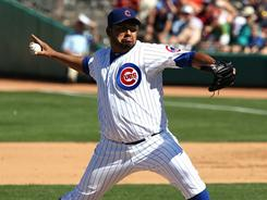 Carlos Silva hopes to become the Cubs' fifth starter.
