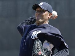 Freddy Garcia won a spot in the Yankees' pitching rotation with a strong spring.