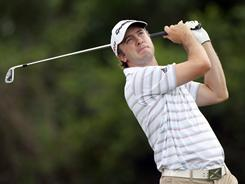 Martin Laird shot a 2-under 70 on the day and holds a slim lead over a tough field heading into the final round of the Arnold Palmer Invitational.