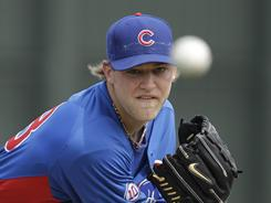 Pitcher Andrew Cashner was 2-6 with a 4.80 ERA last season with the Cubs.
