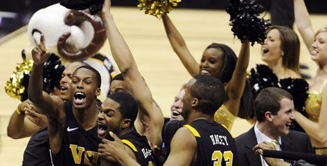 VCU upset top-seeded Kansas 71-61 to become the third No. 11 seed to advance to the Final Four.