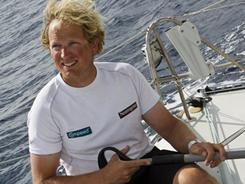 Ryan Breymaier is the only American sailing in the Barcelona World Race.