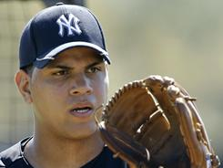 Dellin Betances is among a group of young arms the Yankees have nurtured through their system.