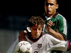 Cobi Jones was one of five selected to the National Soccer Hall of Fame on Tuesday. Jones is the all-time leader in caps for the United States.