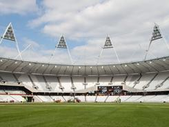 London's Olympic Stadium is finished undergoing construction. The stadium was completed three months ahead of schedule, in contrast to the delays that marked the 2008 Beijing Olympics.