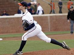 Virginia's Will Roberts tossed the first perfect game in school history on Tuesday, tying a career high with 10 strikeouts.