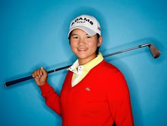 Yani Tseng of Taiwan, the defending champion at the Kraft Nabisco Championship, aims to stay at the top of the rankings.