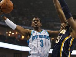 New Orleans Hornets point guard Chris Paul had 18 points and eight assists in the Hornets' blowout win vs. the Pacers.
